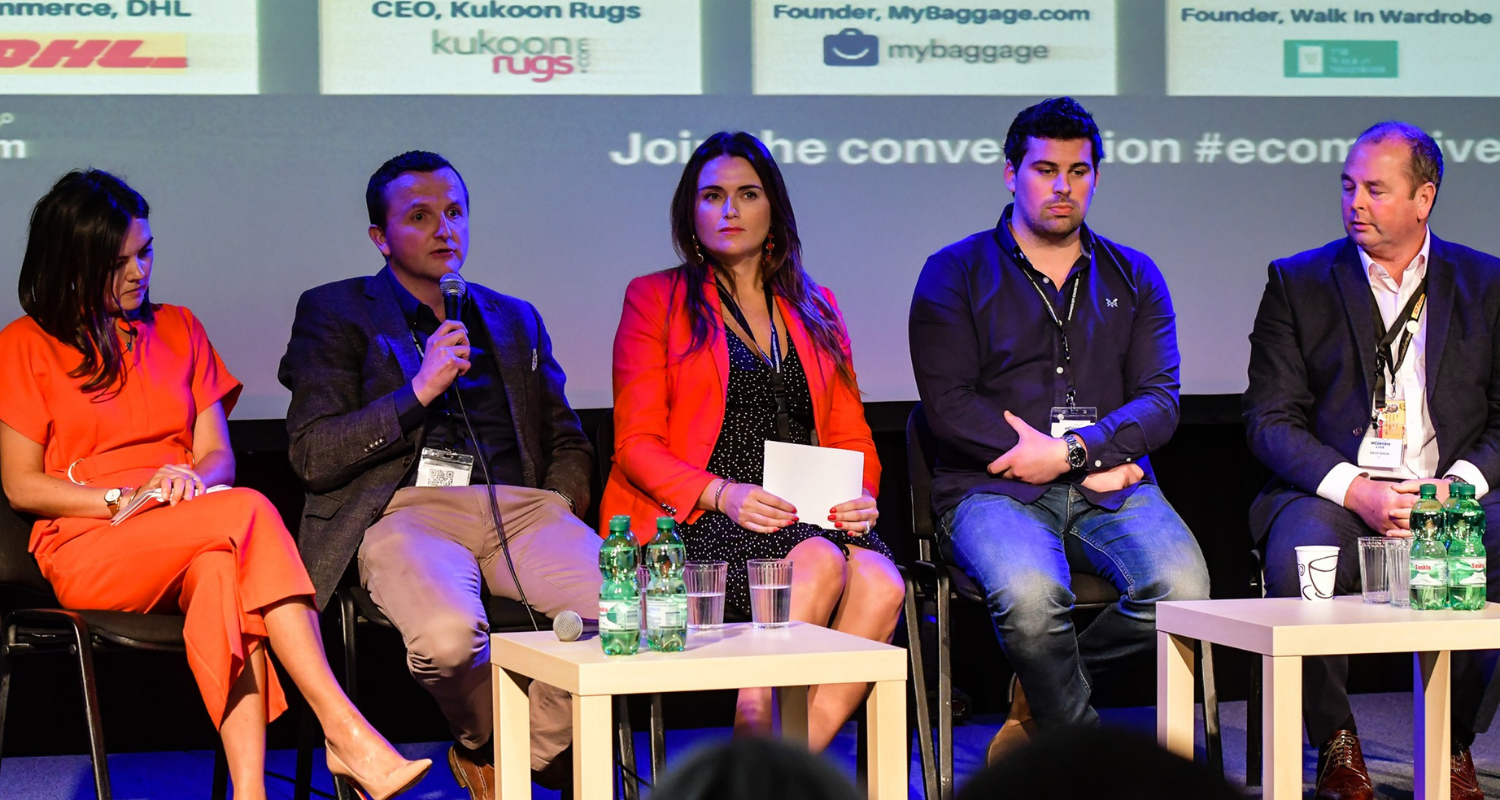 Panel discussion at eComm Live